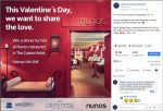 """Image of Masbro Insurance Facebook """"Valentine's"""" competition post"""