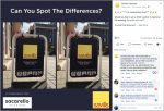 """Image of Savills Facebook """"Spot The Difference"""" competition post"""