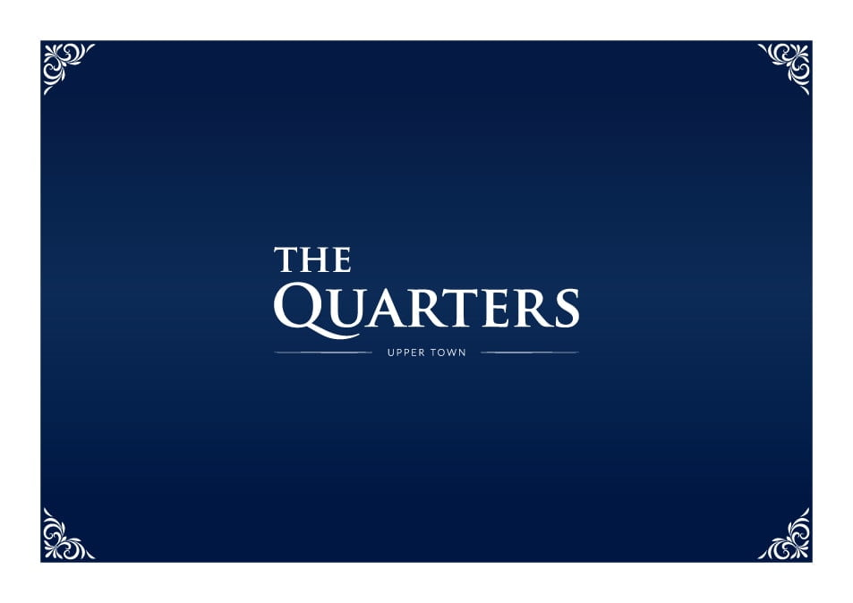 The Quarters brochure cover page